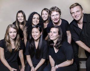 Photo de groupe équipe interdisciplinaire